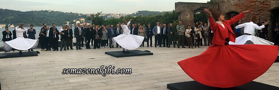 istanbul'da semazen ekibi programları