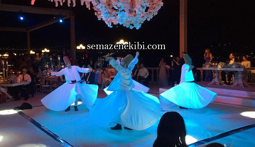 semazen ekibi ile dini düğün organizasyonu